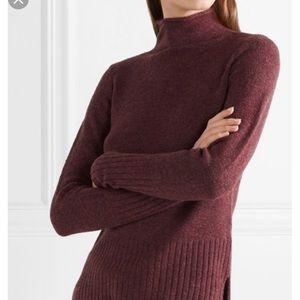 Madewell Inland turtleneck wool blend sweater